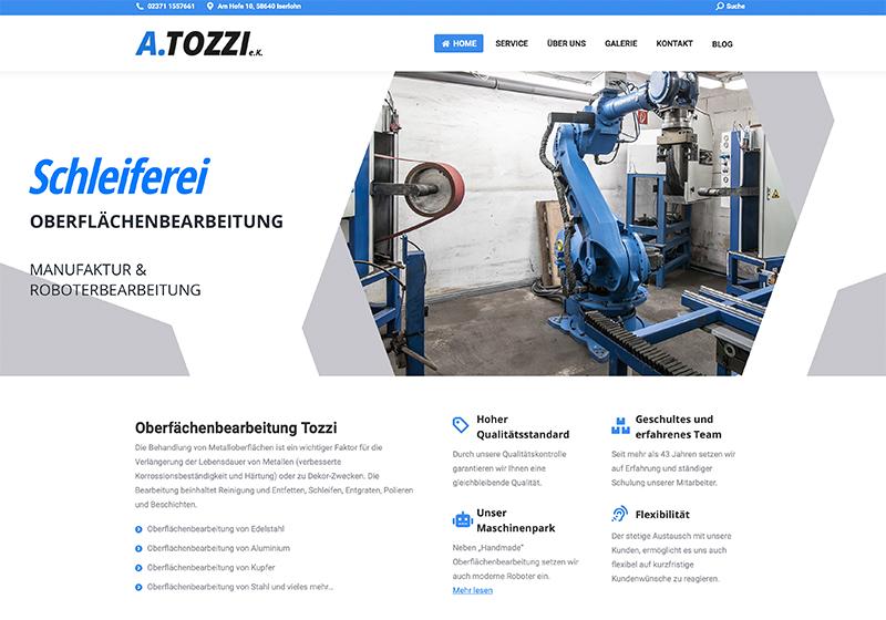 Antonio Tozzi Homepage